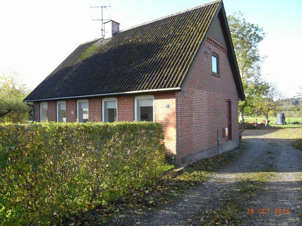 Stuehuset set fra nord